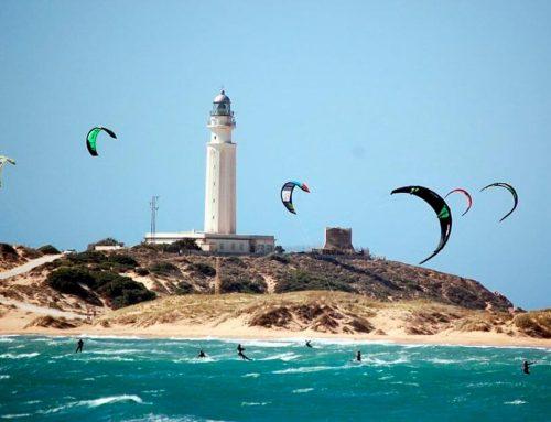 Kitesurf en el Cabo de Trafalgar